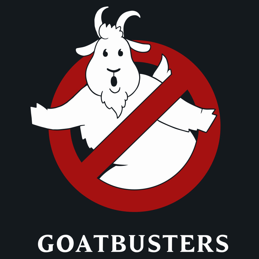 Goatbusters Ghostbusters Logo Parody Men's Unisex T-Shirt