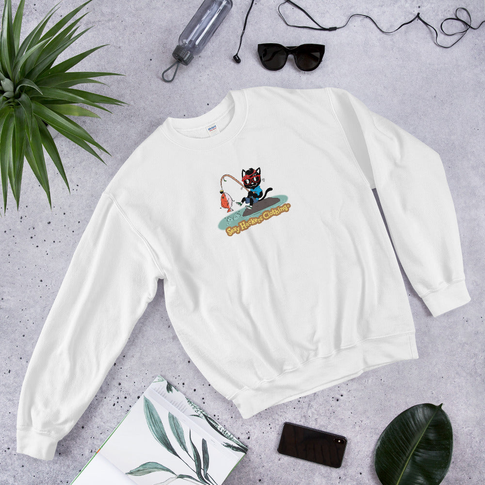 Gone Fishing Unisex Sweatshirts