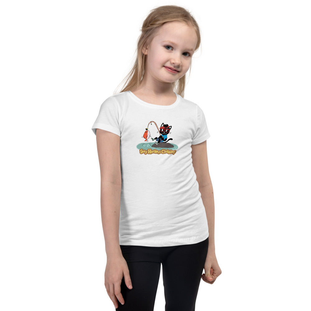 Gone Fishing Princess T-shirt