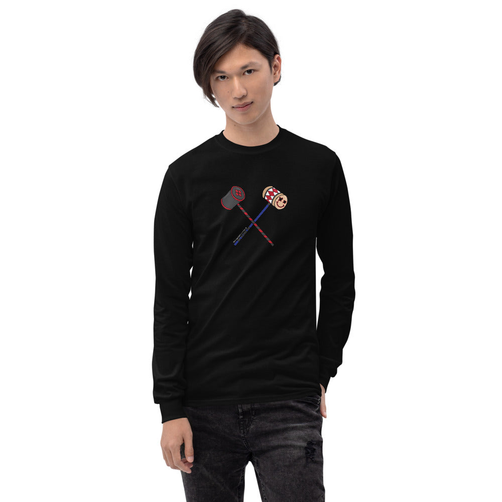 Harley Quinn Mallets Men's Long Sleeve