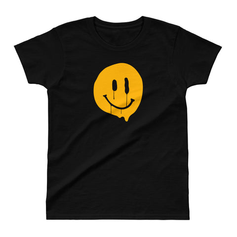 Happy-ish Ladies Ultra Cotton T-shirt