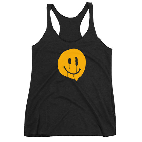 Happy-ish Women's Racer-back Tank-top