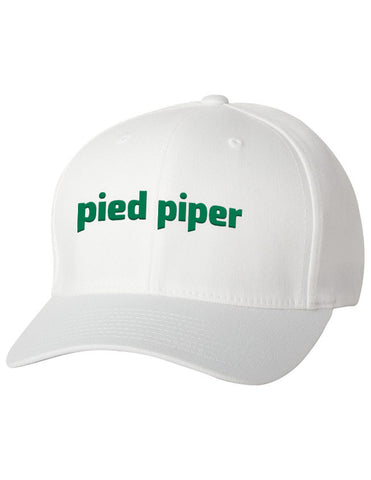 Flexfit - Pied Piper Logo Hat from the TV Series Silicon Valley on HBO White - 1