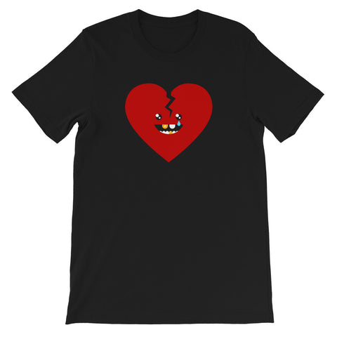 HeartBreak Kid Unisex T-shirt by Sexy Hackers