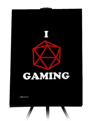 I (Dice) Gaming Canvas