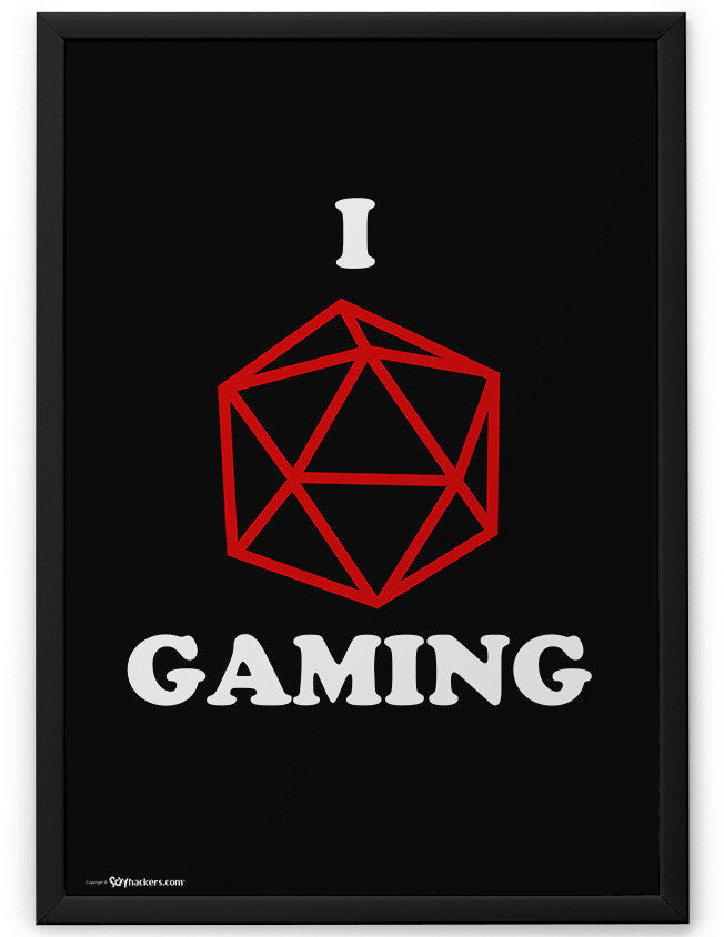 Poster - I (dice) Gaming  - 2