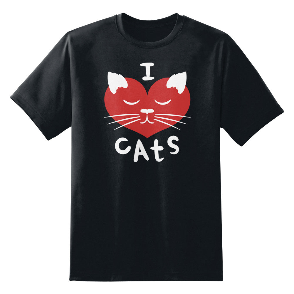 I Love Cats Unisex T-Shirt by Sexy Hackers