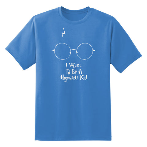 I Want To Be A Hogwarts Kid Unisex T-Shirt