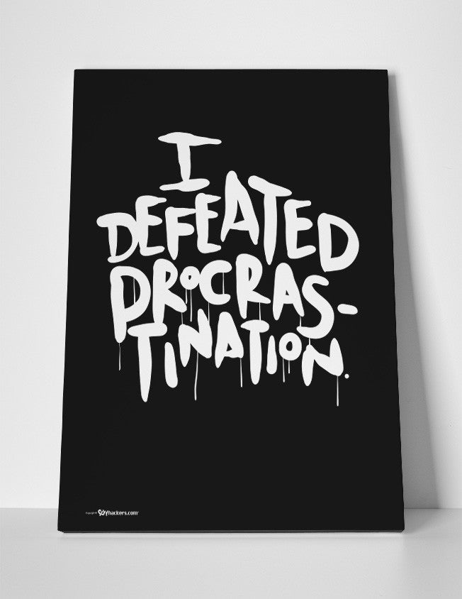 Canvas - I Defeated Procrastination  - 3