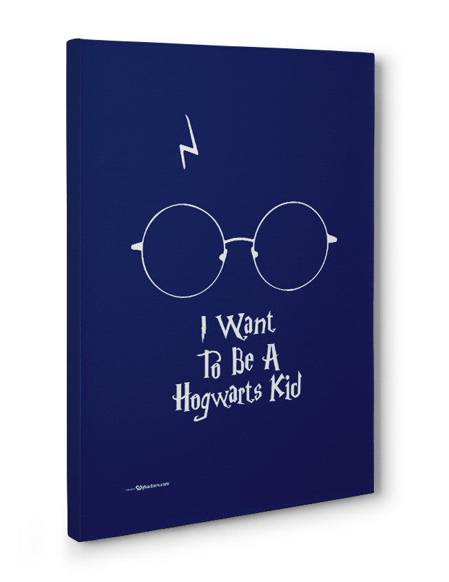 Canvas - I want To Be A Hogwarts Kid  - 3
