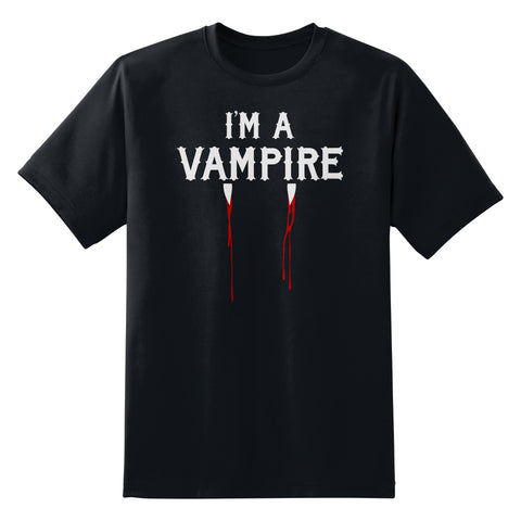 I'm A Vampire T-Shirt by Sexy Hackers
