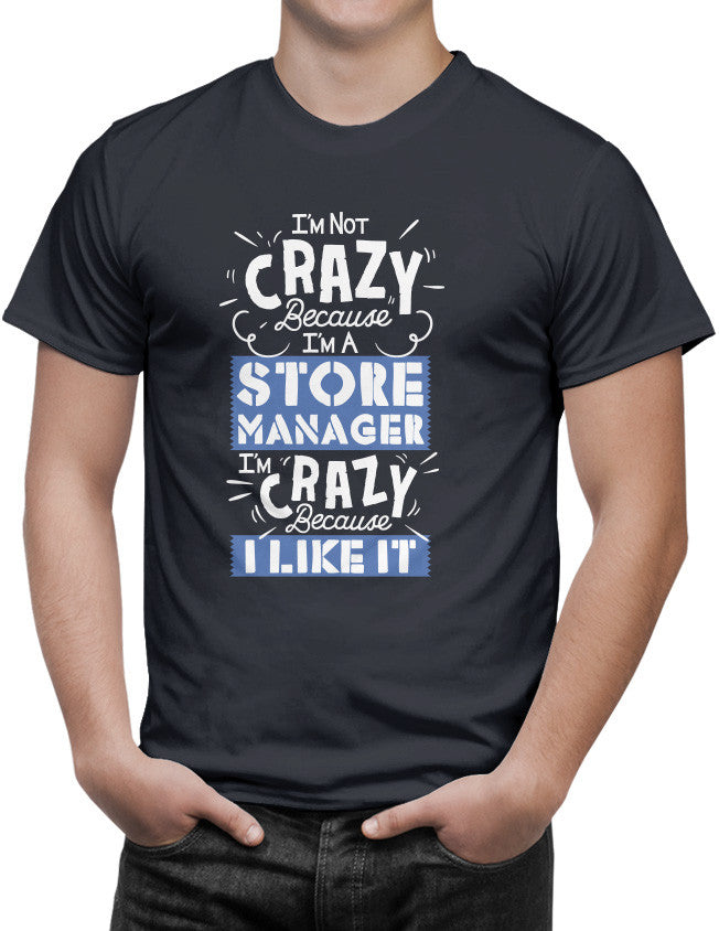 Shirt - I'm Not Crazy Because I'm...  - 3