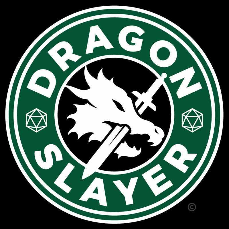 RPG Dragons Starbucks Logo Unisex T-Shirt