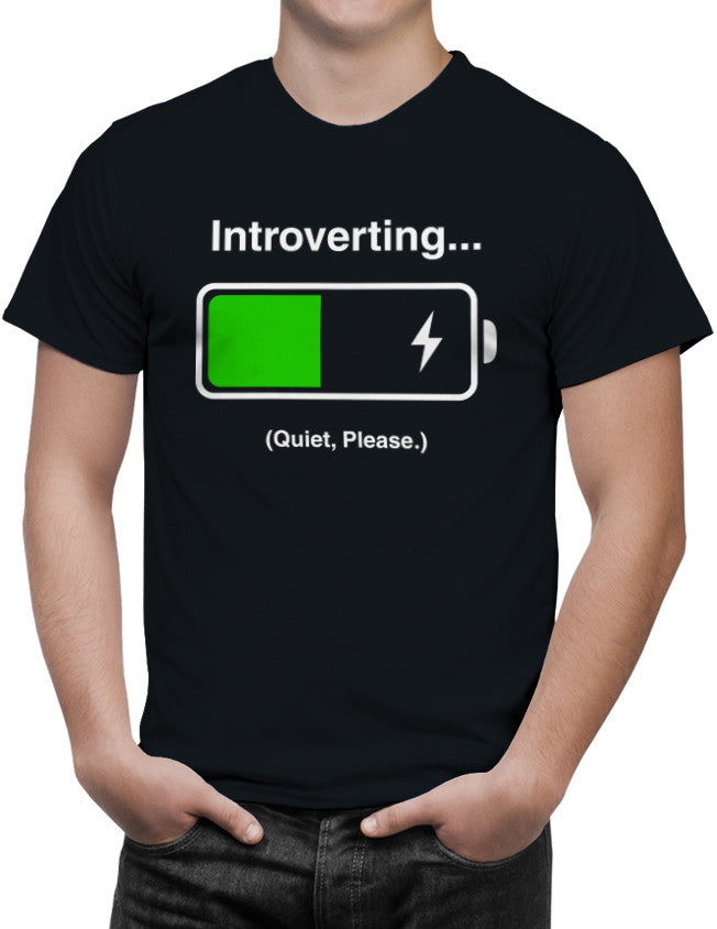 Shirt - INTROVERTING... Quiet Please.  - 2