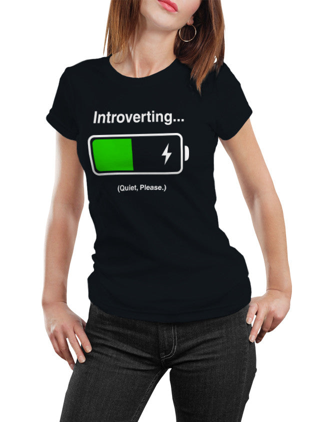 Shirt - INTROVERTING... Quiet Please.  - 3