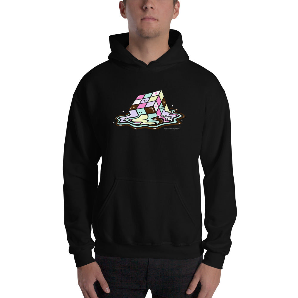 Kawaii Melting Rubix Cube Unisex Hoodies