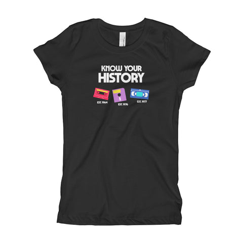 Know Your History Princess T-shirt