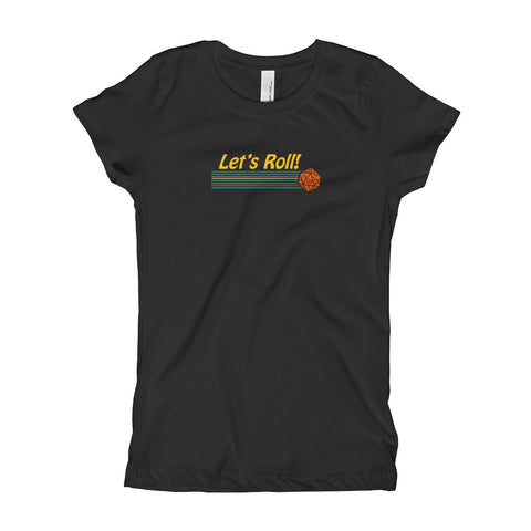 Let's Roll Princess T-shirt