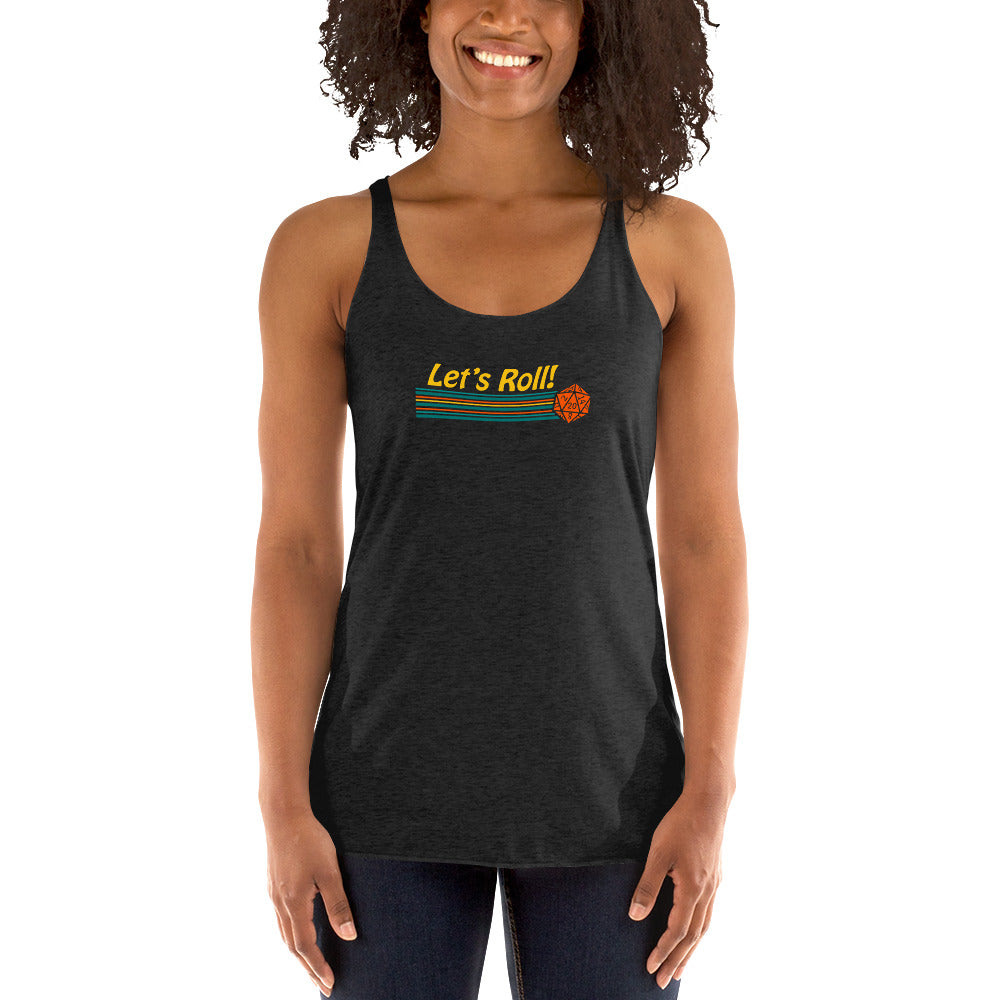 Let's Roll Women's Racer-back Tank-top