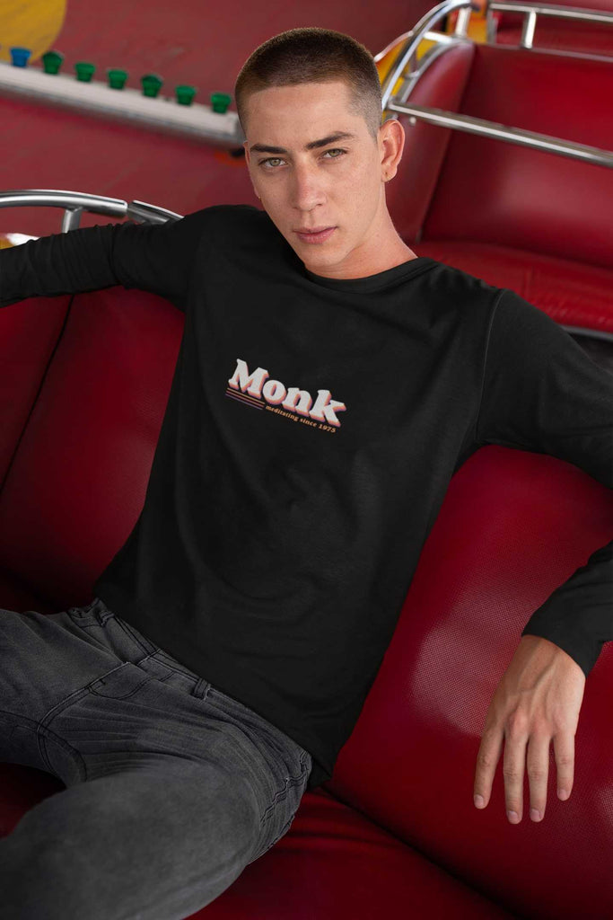 Monk Men's Long Sleeve