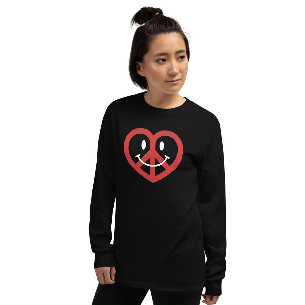 Love, Peace, & Happiness Men's Long Sleeve