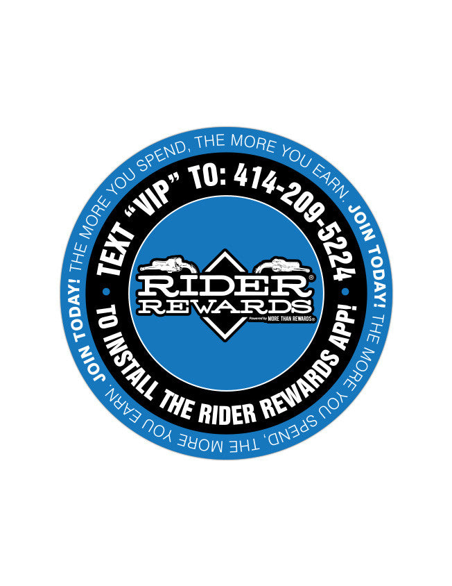"- 3"" Round Sticker Powersports - 5"