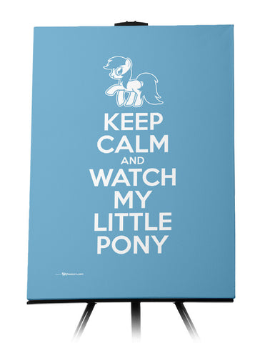 Canvas - Keep Calm and Watch My Little Pony  - 1