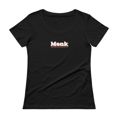 Monk Women's Scoopneck T-shirt