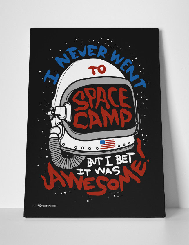 Canvas - I Never Went To Space Camp, But I Bet It Was Awesome!  - 2