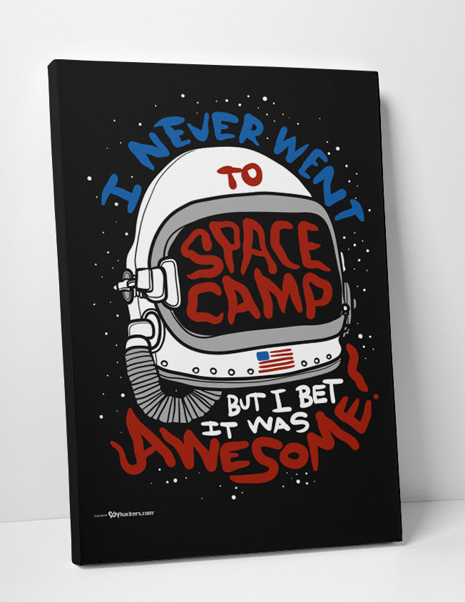Canvas - I Never Went To Space Camp, But I Bet It Was Awesome!  - 3