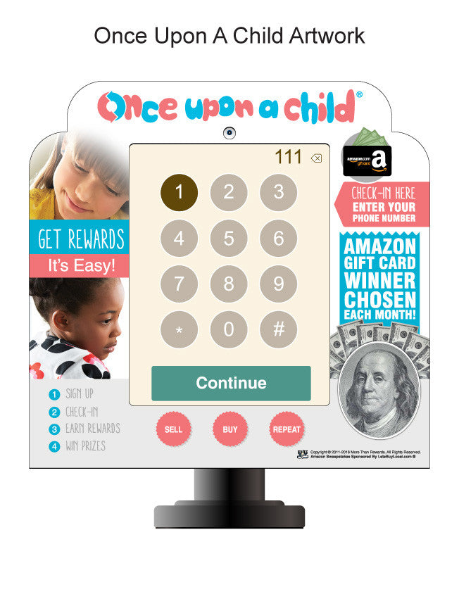 - Winmark Franchise Keypads Once Upon A Child - 3