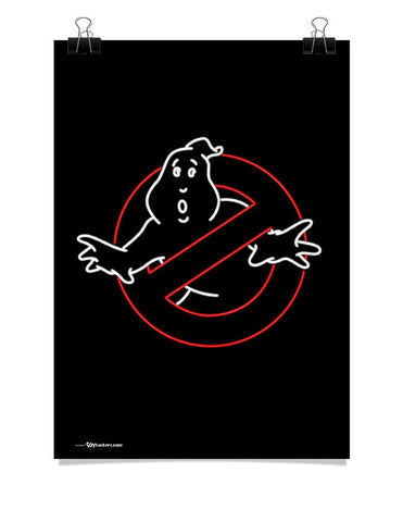 Poster - Neon Ghostbusters  - 1