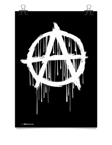 Poster - Anarchy Symbol  - 1