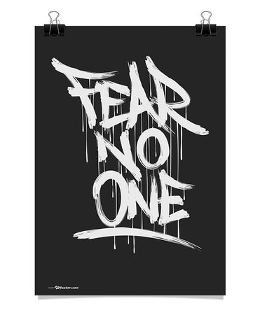 Poster - Fear No One  - 1