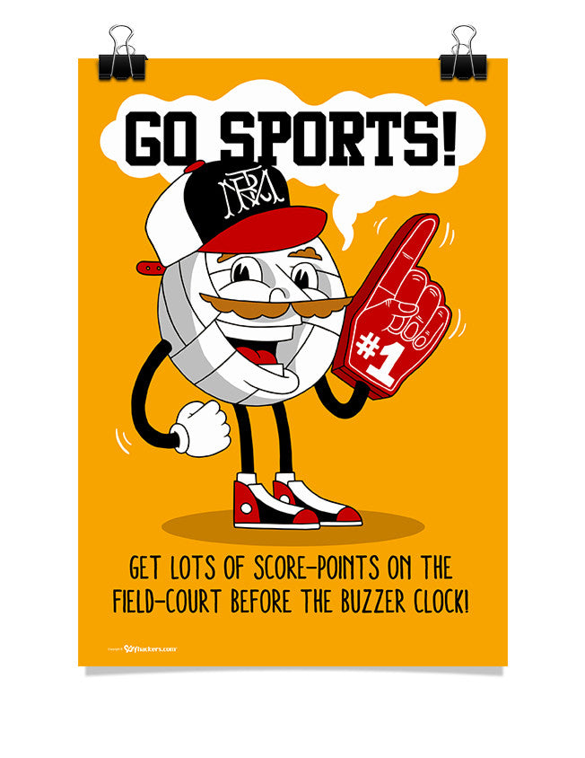 Poster - Go Sports!  - 1