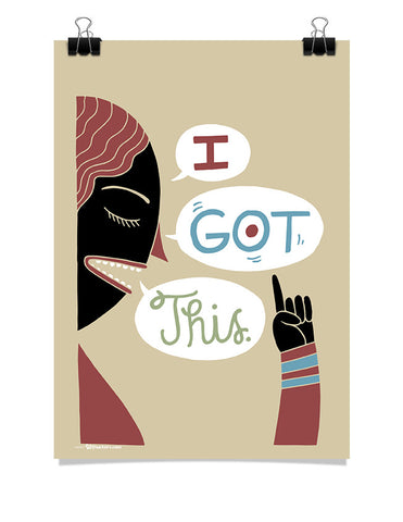 Poster - I got this.  - 1