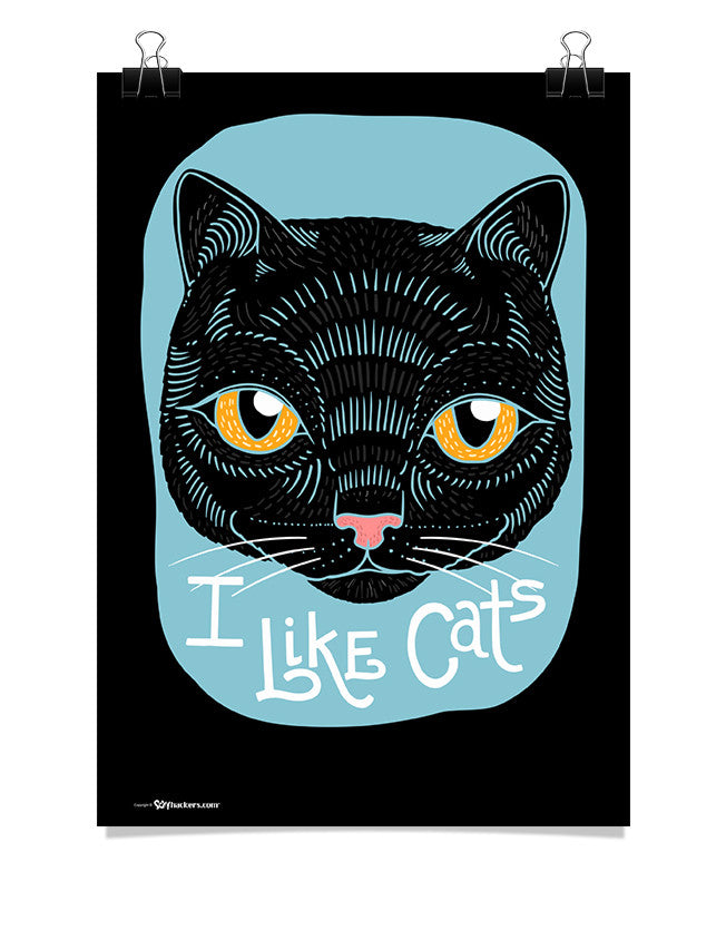 Poster - I Like Cats  - 1