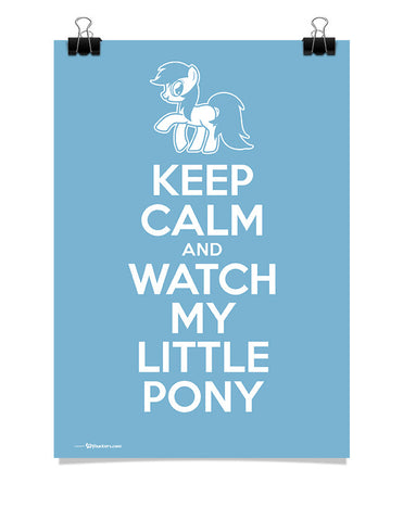 Poster - Keep Calm and Watch My Little Pony  - 1