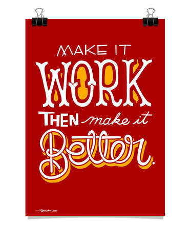 Make It Work The Make It Better Poster