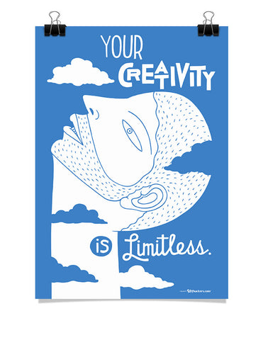Your Creativity is Limitless Poster