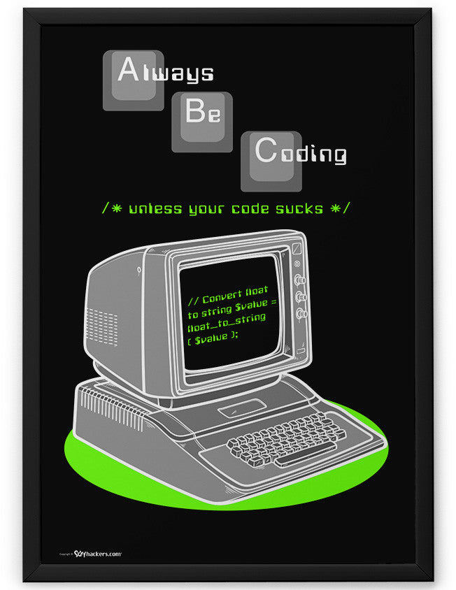 Poster - ABC - Always Be Coding  - 2