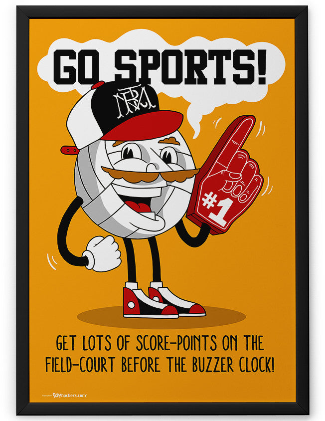 Poster - Go Sports!  - 2