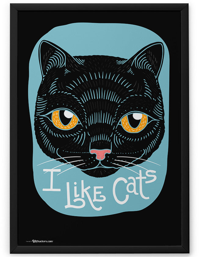 Poster - I Like Cats  - 2