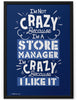 Poster - I'm Not Crazy Because I'm...  - 2