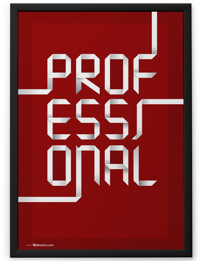 Poster - Professional.  - 2
