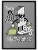 Poster - There is only one boss. The customer.  - 2