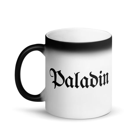 Paladin RPG Character Class Color-Changing Coffee Mug