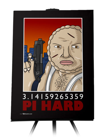 Pi Hard Canvas