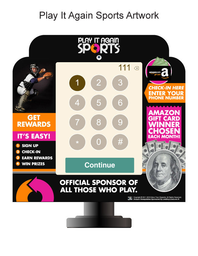 - Winmark Franchise Keypads Play It Again Sports - 4