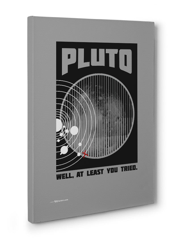 Canvas - Pluto Well At Least You Tried  - 3